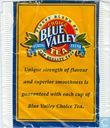 Blue valley choice tea