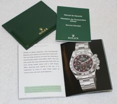 Rolex - Cosmograph Daytona  Booklets and Credit Card New  - 4119209.34 - Men - 2011-present