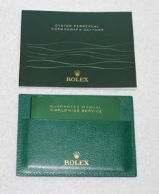 Rolex -  Cosmograph Daytona 2013 Booklets and Credit Card  - 4119209.275 - Men - 2011-present