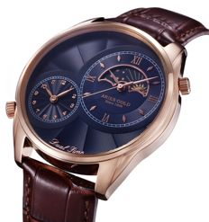 Aries Gold - Dual Time - G1004 RG-BU - Uomo - 2018