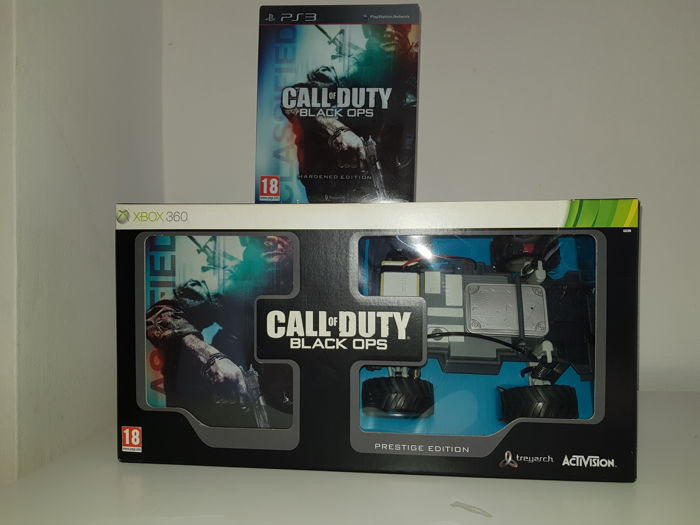 Call of duty black ops prestige edition  + black ops hardened edition