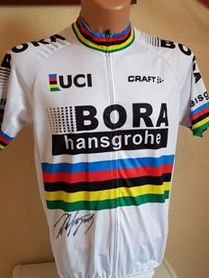 Peter Sagan - 3x Worldchampion Elite and 5x winner Green jersey Tour de France - hand signed jersey + COA