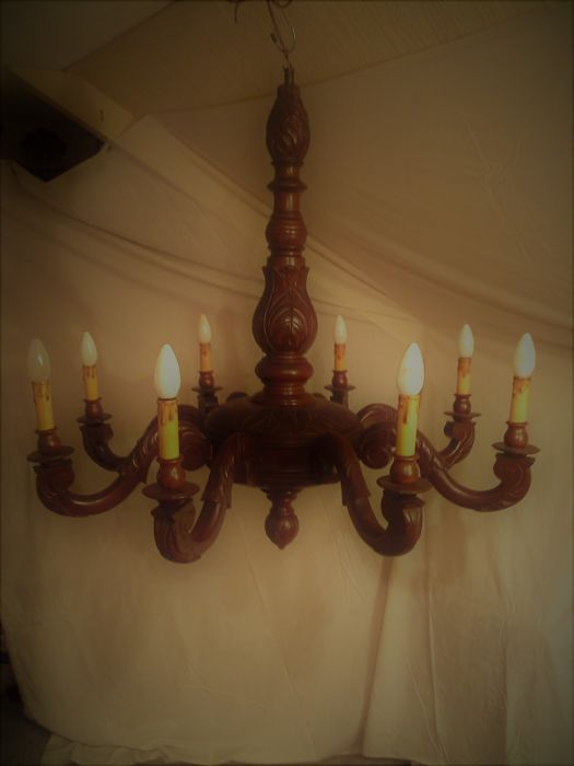 antique wooden ceiling lamp catawiki rh auction catawiki com antique ceiling planks vintage wooden ceiling rose