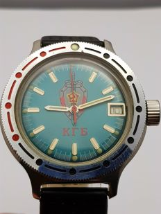 Vostok - komandirskie  Automatic 31 Jewels  - Heren - 1980-1989