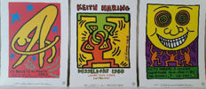 Keith Haring (after) - Ballets de Monte Carlo / Dusseldorf 1988 / Milano