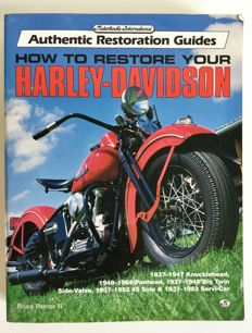 Harley-Davidson - Book - How to restore your Harley Davidson - Bruce Palmer III