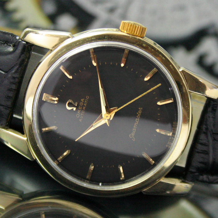 Omega - Seamaster Automatic Gold Cap Steel  - 2846 - 3 SC - Heren - 1950-1959