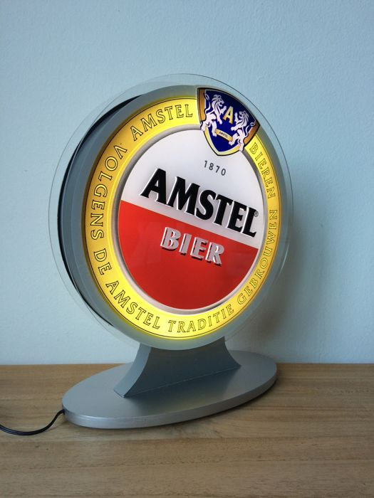Amstel beer advertising light - light box