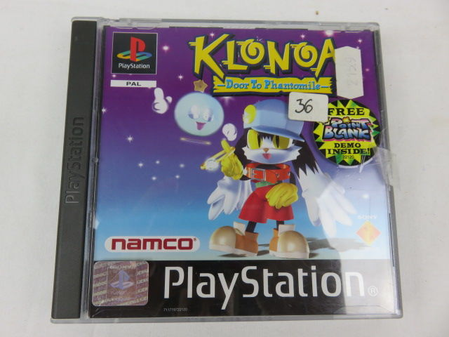 Klonoa: Door to Phantomile :  Playstation game with free Point blank demo