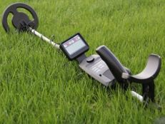 Precise metal detector - Gold Century - with metal discrimination and a waterproof coil