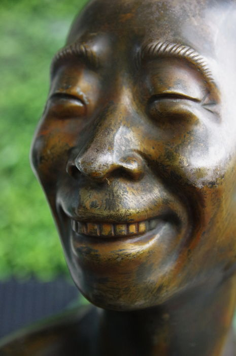 Jean Mich - Portrait of Chin-Fan Han Yang - The cook.