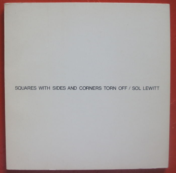 Sol Lewitt - Squares with sides and corners torn off - 1974