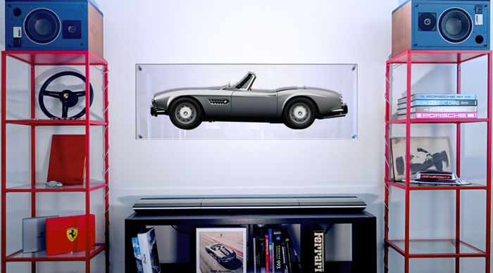 TL- Halmo Collection pannello in plexiglas Bmw 507 Roadster