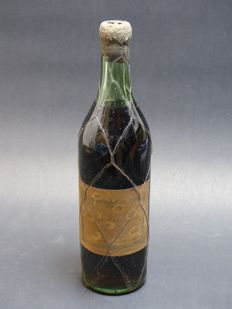 "Old bottle of Cognac Napoléon ""Piercel de Saint-Jacques"" - Bottled 1950s"