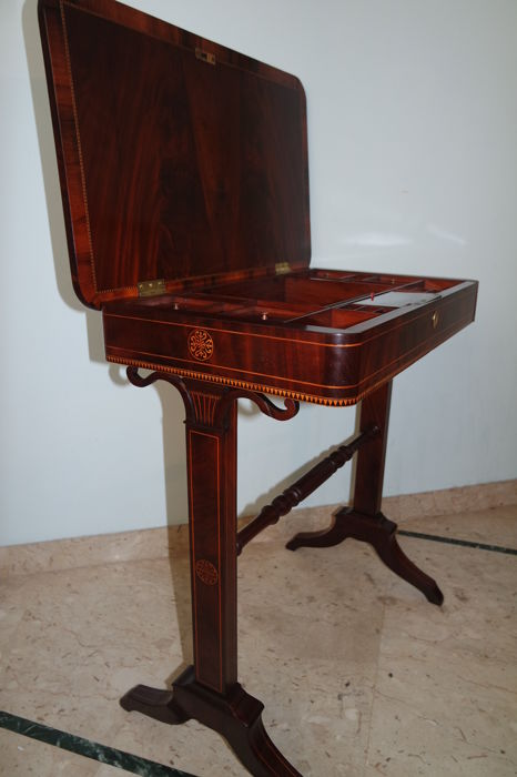 Work table in Charles X style - France - first half of the 19th century