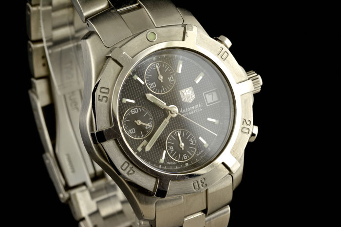 TAG Heuer - Exclusive Chronograph Watch - CN2111 - Mężczyzna - 2000-2010