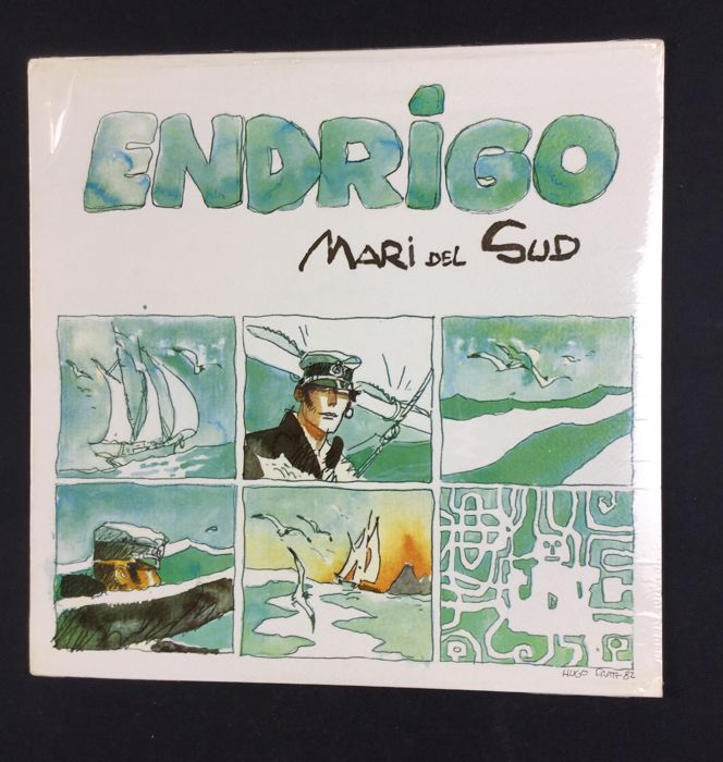 "Corto Maltese - Long Playing ""Endrigo - Mari del Sud"""