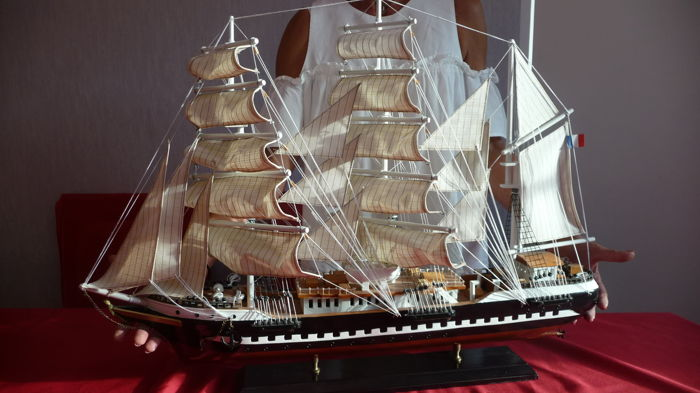 Ship model of the Belem