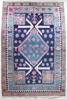 Hand-knotted North/West Persia, 188 x 125 cm, ±1950