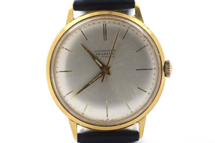 Junghans 1979 Catawiki Homme 17 Jewels Trilastic 1970 nk0P8wXO
