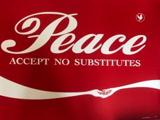 Canvaz Peace - Accept no substitute-red edition