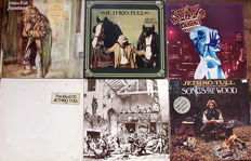 Jethro Tull - Lot Of 6 Albums