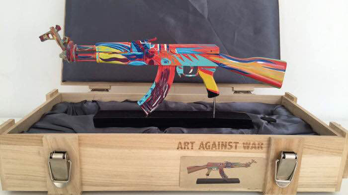 Ray Coster - Art against War / AK47 Peace Edition