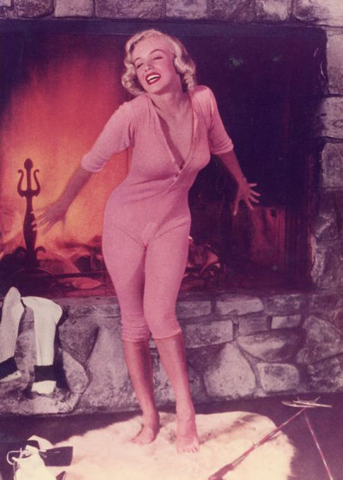Johnny Florea - Marilyn Monroe, 'In the fire place',  1953