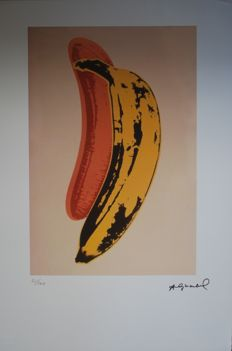 Andy Warhol - Banana - The Velvet Underground & Nico (after)