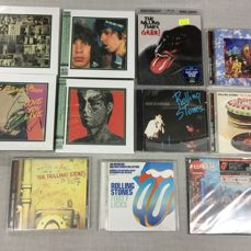 The Rolling Stones : 11 Albums on CD / Blu-ray