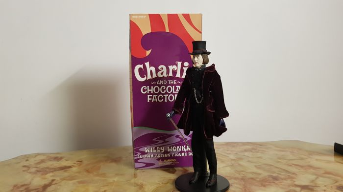 willka collector's action figure doll tim Burton's Charlie and the chocolate factory