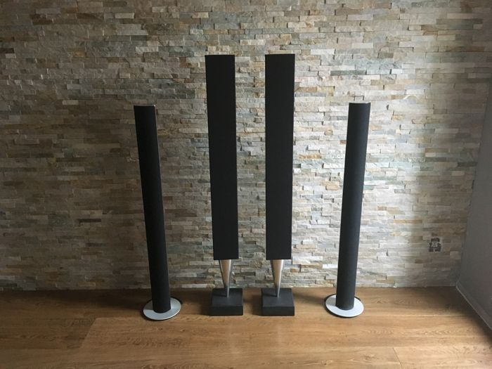 Bang and Olufsen Wireless Dream set -  2x Beolab 8000 and 2x Beolab 6000 all connected with a HQ wifi module
