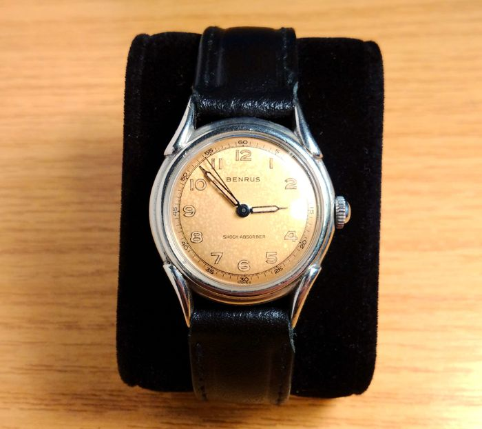 Benrus - Vintage shock absorber - military style - BH11 - Homme - 1950-1959