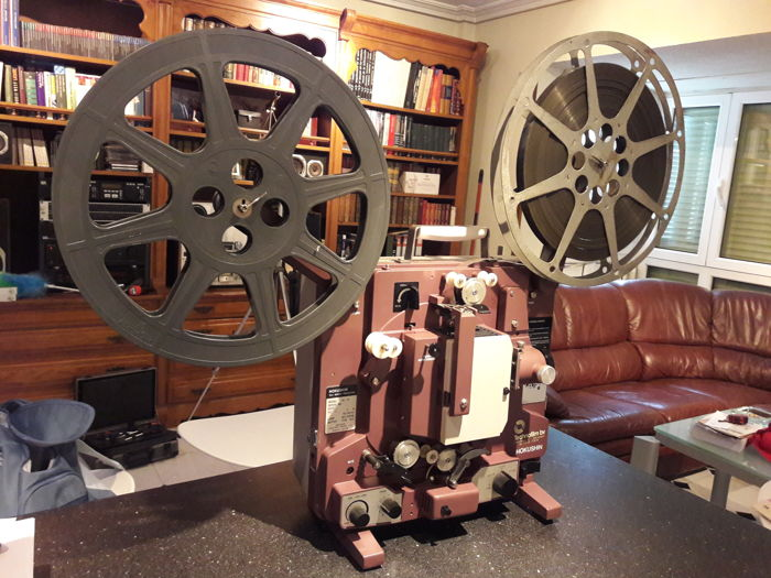 16 mm film projector with sound
