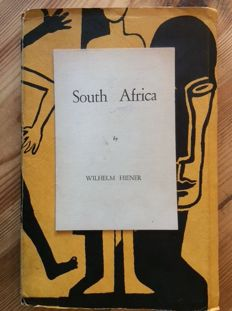 Wilhelm Hiener - South Africa. A Cycle of Thirty Poems - 1966