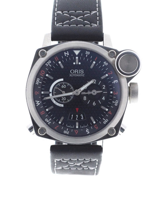 Oris - BC4 Flight Timer 42.7mm Black Dial GMT - 01 690 7615 4154 - Unisex - 2018