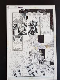 Gil Kane - Original Art Page - Ring of the Nibelung #4 - Page 6 - (1990)