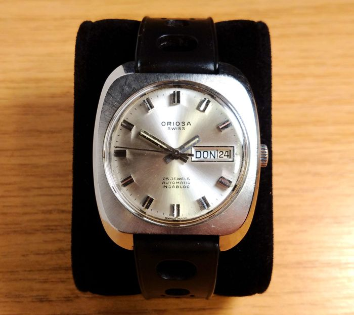 Oriosa Swiss - Vintage 25 jewels automatic cal. AS2066 - Homme - 1960-1969