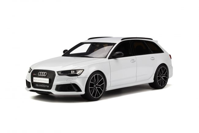 Otto Mobile - Scale 1/18 - Audi RS6 Avant - White