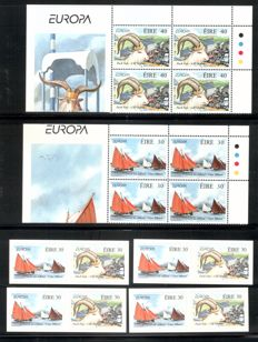 British Commonwealth 1963/1997 - collection of blocks of four CEPT as well as some small sheets