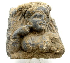 Ancient Gandhara Stone Statue of Hariti - 107mm