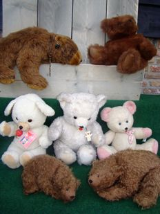 Beautiful decorative collectible bears