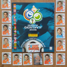 Panini  - World Cup 2006 Germany -  Complete Album + 15 Extra Netherlands team stickers.