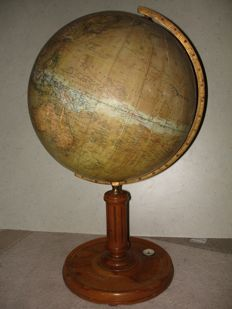 Mang's new earth globe with compass, globe, Mappenmonde, Globo