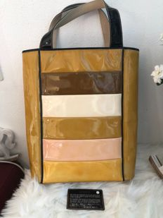 Chanel - Multi-color Patent Leather Tote Bag - *No Minimum Price* - VIntage