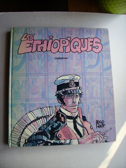 Corto Maltese Vol.1 - Les Éthiopiques - 2nd series in colours in a large size hardcover - C - Original Edition (1981)