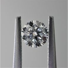 0.40ct Natural Round Brilliant Cut Diamond E SI1