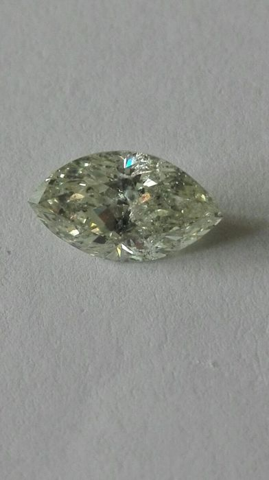 Very beautiful 1.33 ct diamond, colour J, purity SI2.