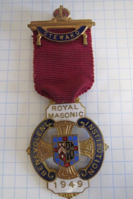 Royal Masonic Benevolent Institution  1949 year