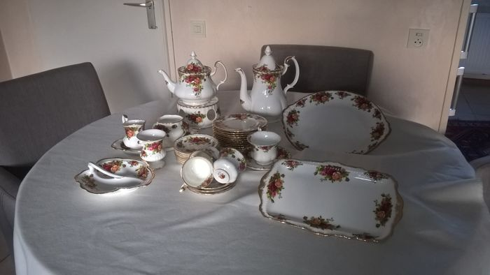 Royal Albert, Old Country Roses service